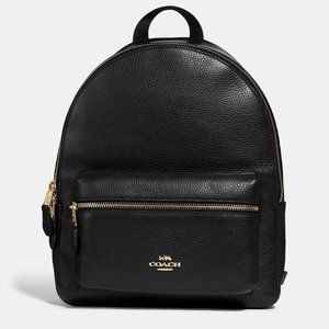 COACH CHARLIE LEATHER BACKPACK